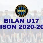 Saison 2020-2021 : Bilan U17 !