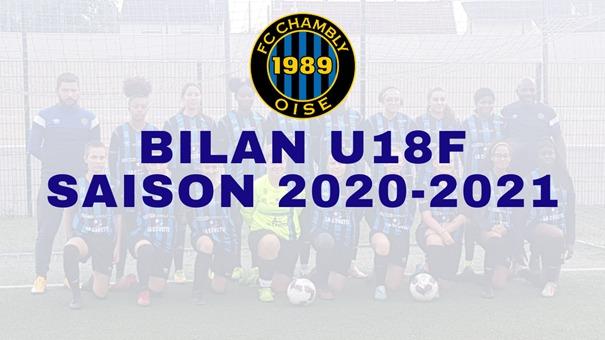 Saison 2020-2021 : Bilan U18F !
