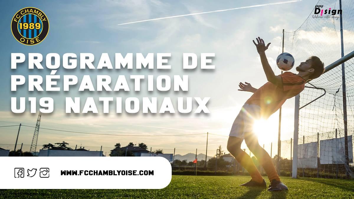 U19 Nationaux / Préparation 2021-2022