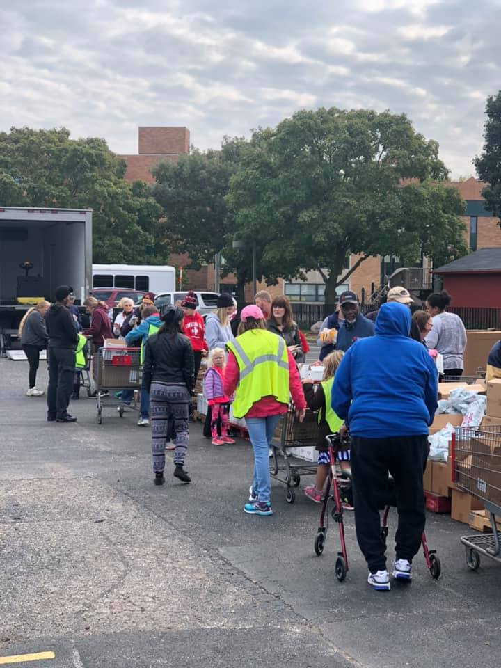 Mobile Food Pantry 2019