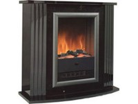 Dimplex Mozart Fireplace Suite in Black | Fireplace World