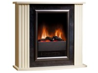 Dimplex Mozart Fireplace Suite in Cream | Fireplace World