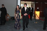 Juniors Olivia Nguyen and Devin Hatfield arrive to prom. Photo by Alaina King.