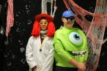 Junior Ethan Worral as a doctor and junior Peyton Pierce as Mike Wasowski.