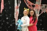 Senior Savannah Thieneman as Pikachu and senior Sara Wardrip as Boo.