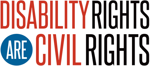 Disability Rights are Civil Rights logo