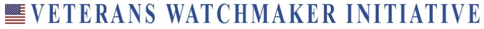 Veterans Watchmaker Initiative Logo