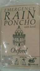 IALL Oxford poncho