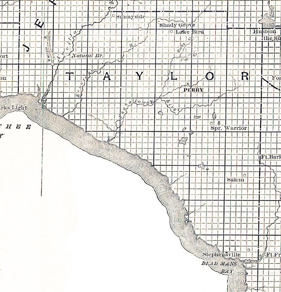 Taylor County, 1888