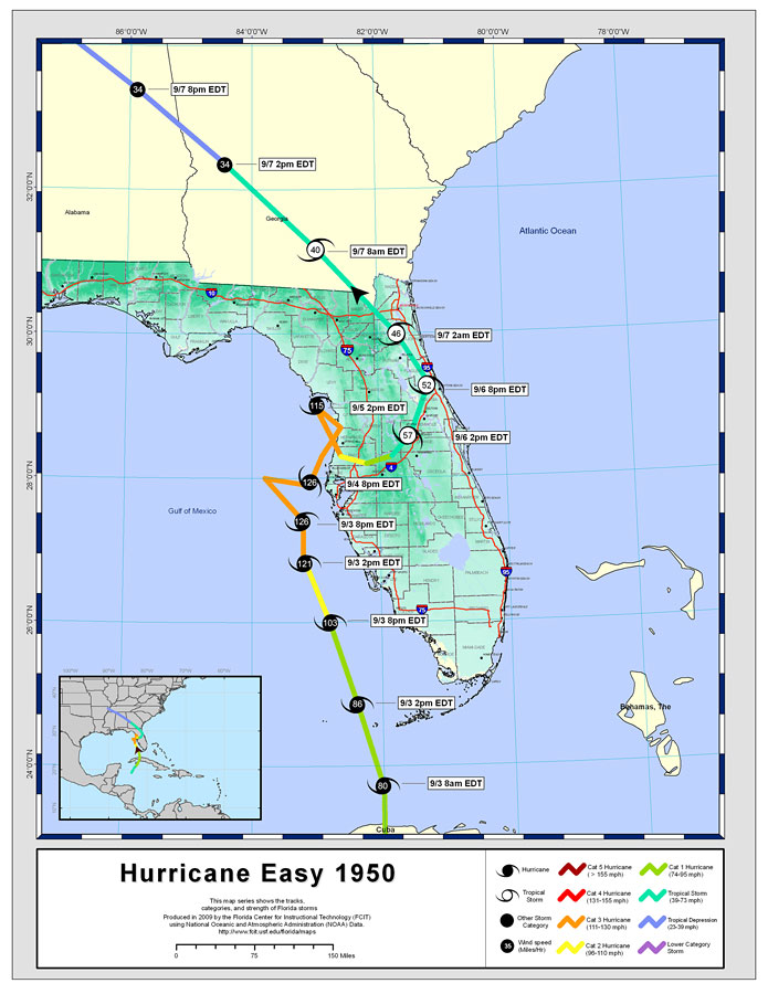 Maps Of Hurricane : hurricane, Storm, Tracks, Name:, Hurricane, Easy,