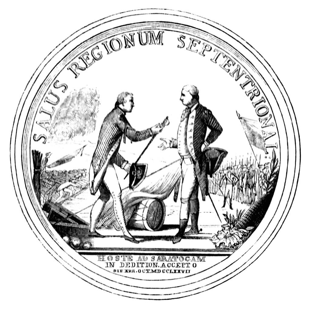 October 17 Surrender At Saratoga
