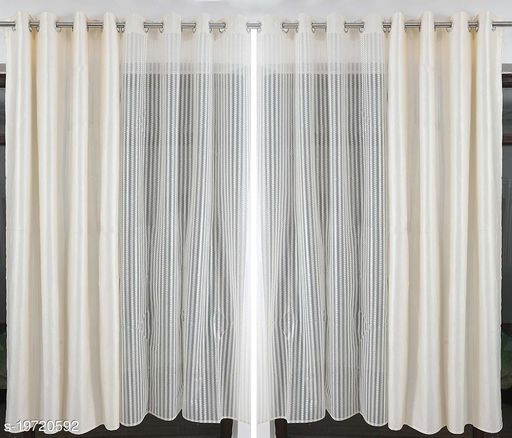 buy curtains sheers trendy combo of 4pc of curtains 9 feet long door curtain set of 4 for rs1119 cod and easy return available