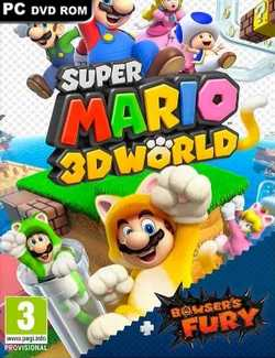 Super Mario 3D World + Bowser's Fury Crack PC Download Torrent CPY