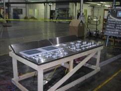 Aluminum Leveling Line Control Panel