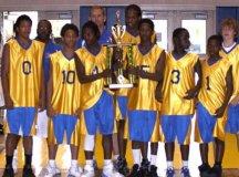 Local AAU Team, the Alexandria Titans.