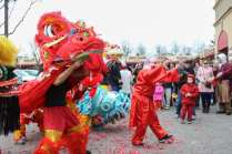 People celebrate Tet, the Vietnamese New Year, at the Eden Center in Falls Church on Saturday, Jan. 28. (Photo: Jared Wood)