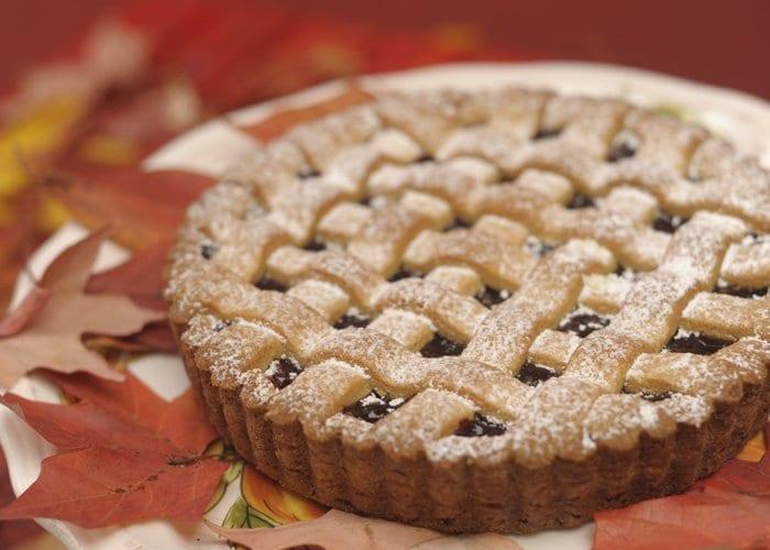 The cranberry linzer tort from Happy Tart. (Photo: Happy Tart)