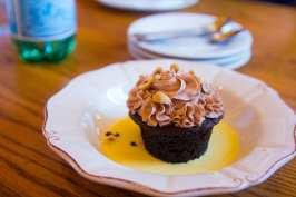 The torta al cioccolato with nutella cream and toasted hazelnuts. (Photo: Jody Fellows/News-Press)