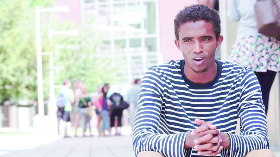 Former abaarso student mubarik is one of several students from the northwest Somalian school to attend an American university. He is currently a student at the Massachusetts Institute of Technology. (Photo: Courtesy of Ben Powell Media)