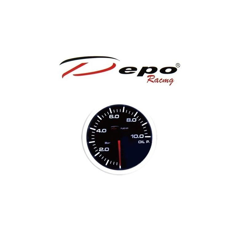 Depo Racing digital oil pressure gauge 10bar 52mm WS-W5227B