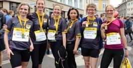 Lauftreff erfolgreich beim Bonn Marathon