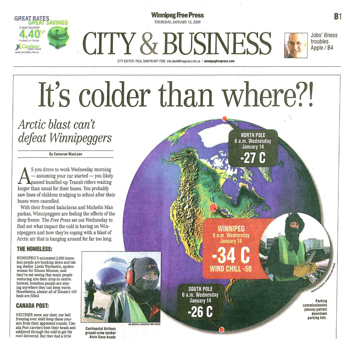 Frigid Cold Is Why We Need Dependable Energy