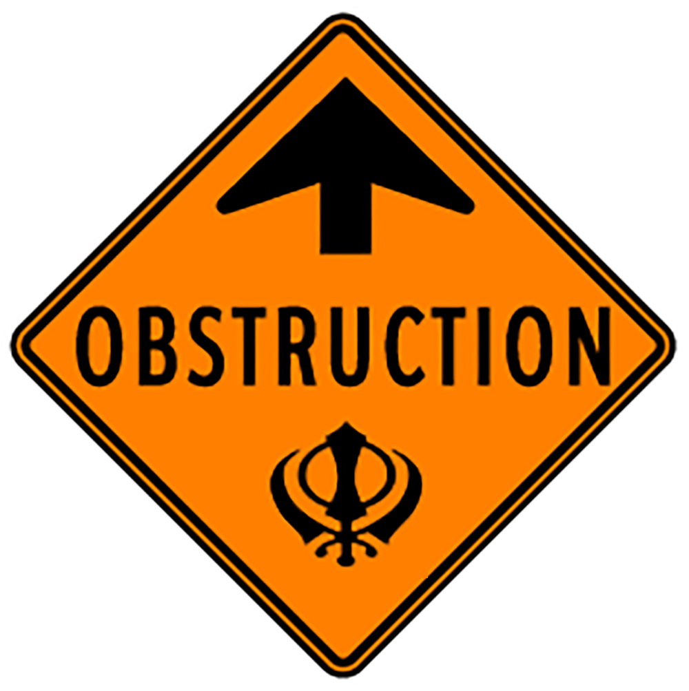 Khalistan: The Art of Obstruction
