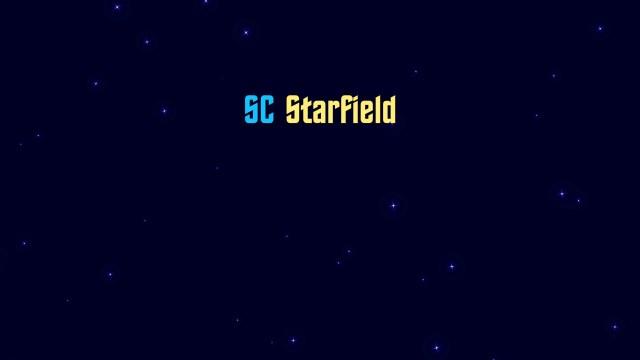 SC Starfield generator plugin