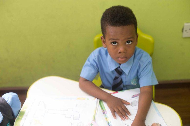 Franklin Comprehensive School boy
