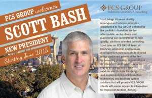 Scott Bash new president announcement