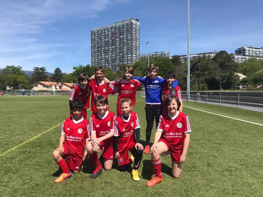 Match amical Juniors E