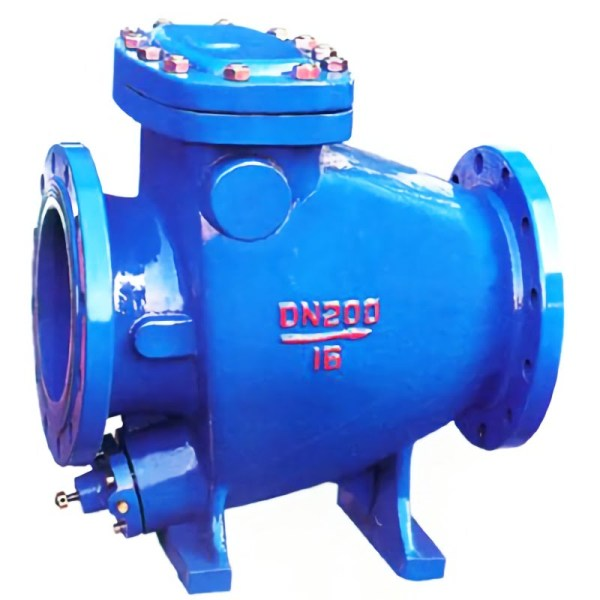 blue DN200 Large diameter swing check valve