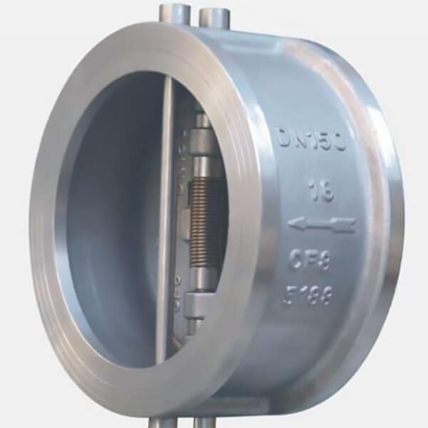 Metallic Wafer double plate check valve-1Metallic Wafer double plate check valve-1