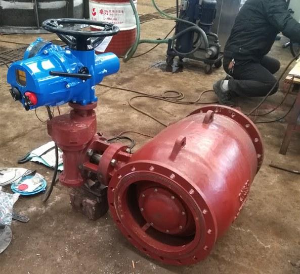 TIELING FCV electric flow control valve