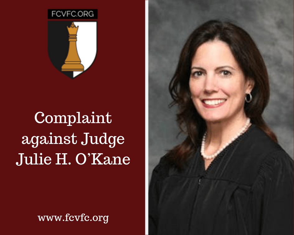 Complaint against Judge Julie H. O'Kane