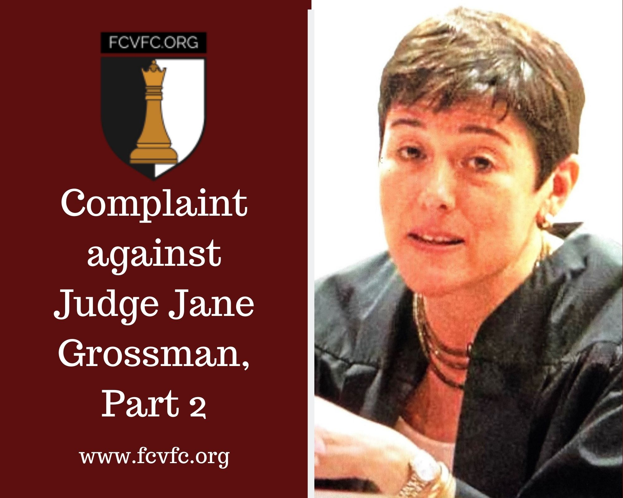 Complaint Against Judge Jane Grossman Part 2