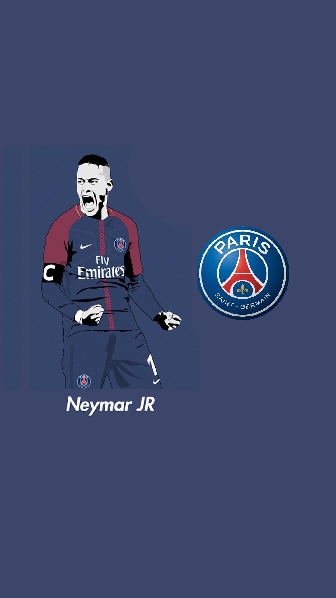 neymar psg iphone x wallpaper 2021