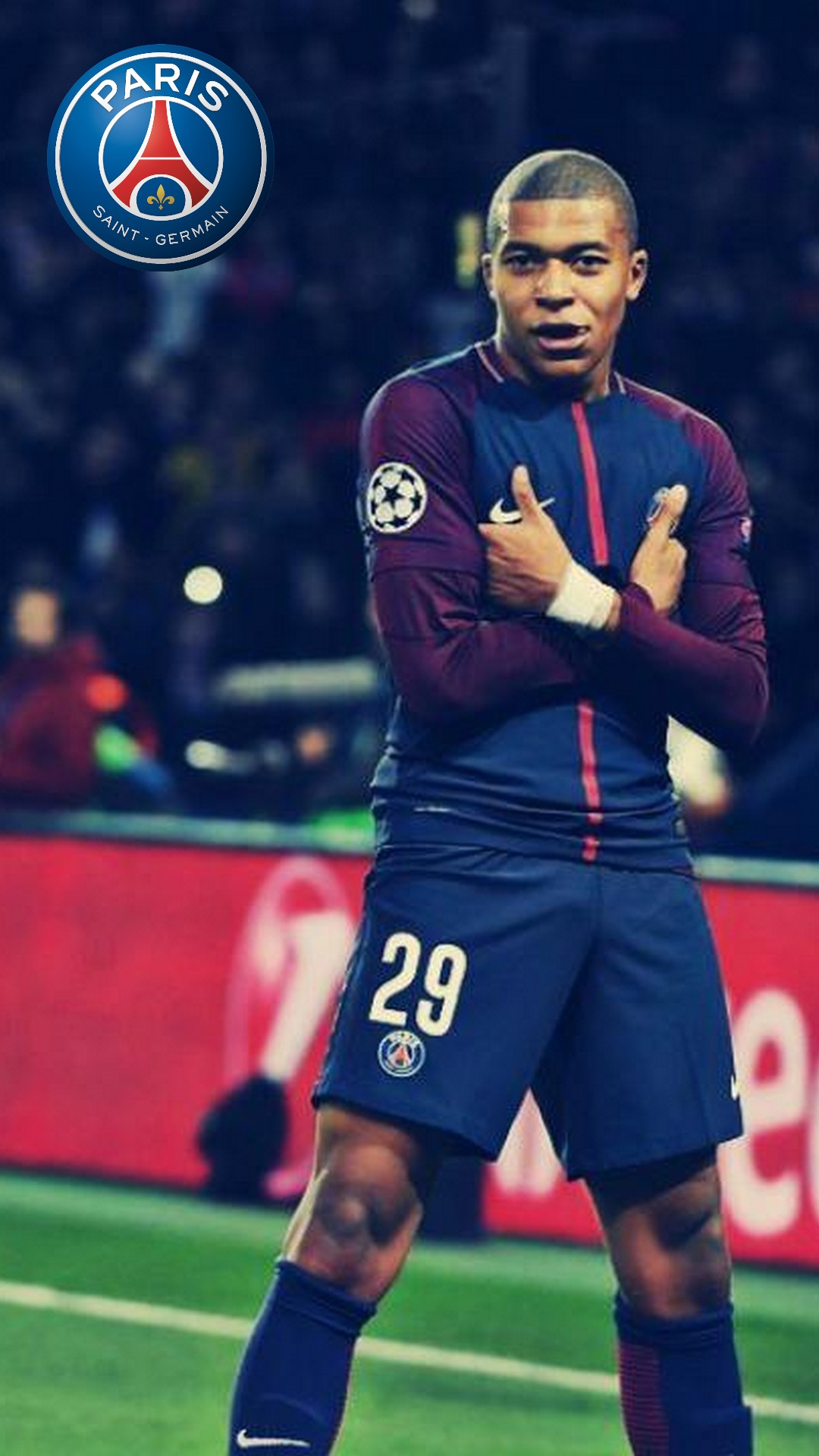 iphone wallpaper hd kylian mbappe psg