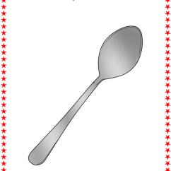 Kitchen Spatula Countertop Organizer Flashcards : Utensils