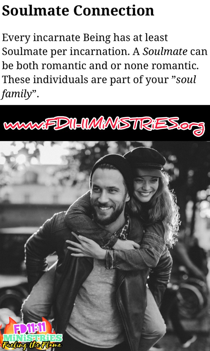 What Is A Soulmate Connection