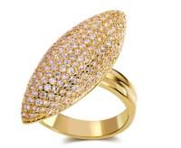 Full Finger Long Rings Romantic RingPlated Famous Design ...