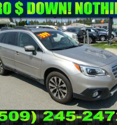 pre owned 2016 subaru outback 3 6r limited 3 6l all wheel drive wagon [ 1024 x 768 Pixel ]