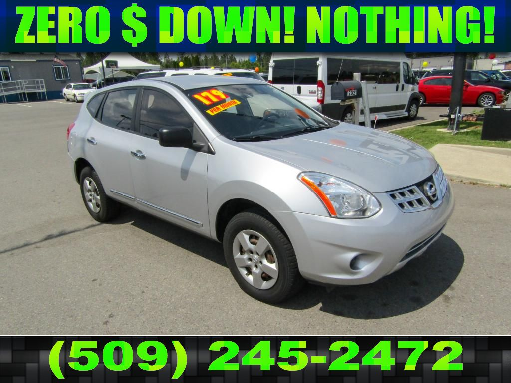 hight resolution of pre owned 2011 nissan rogue s 2 5l all wheel drive suv