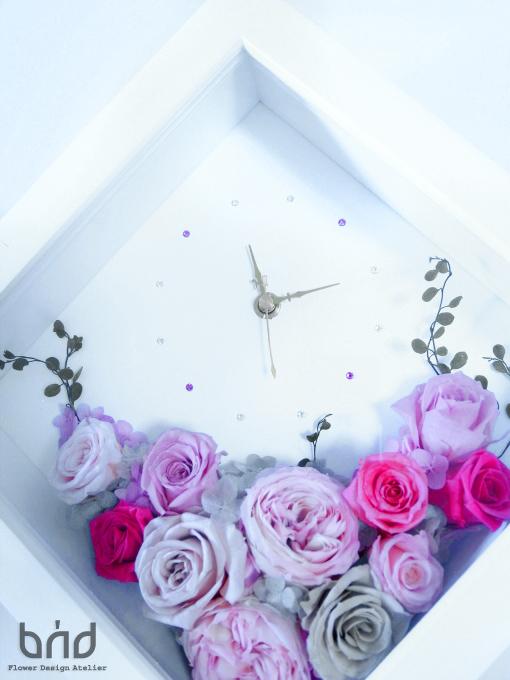 BUDウォールデコ置き時計
