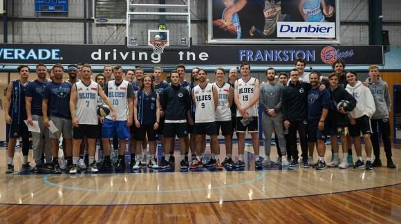 'FRANKSTON RSL' SENIOR BLUES MEN INTRA-CLUB GAME
