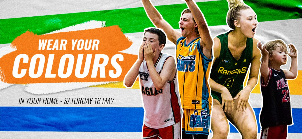 BASKETBALL VICTORIA WEAR YOUR COLOURS DAY – THIS SATURDAY!