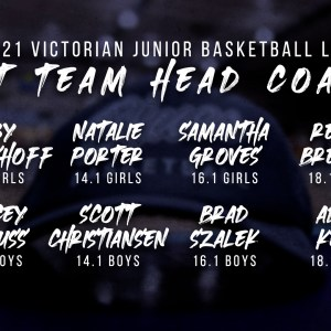 2020/21 VJBL FIRST TEAM HEAD COACHES