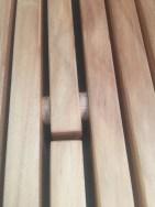 Flip Coat rack Close up of Hinge