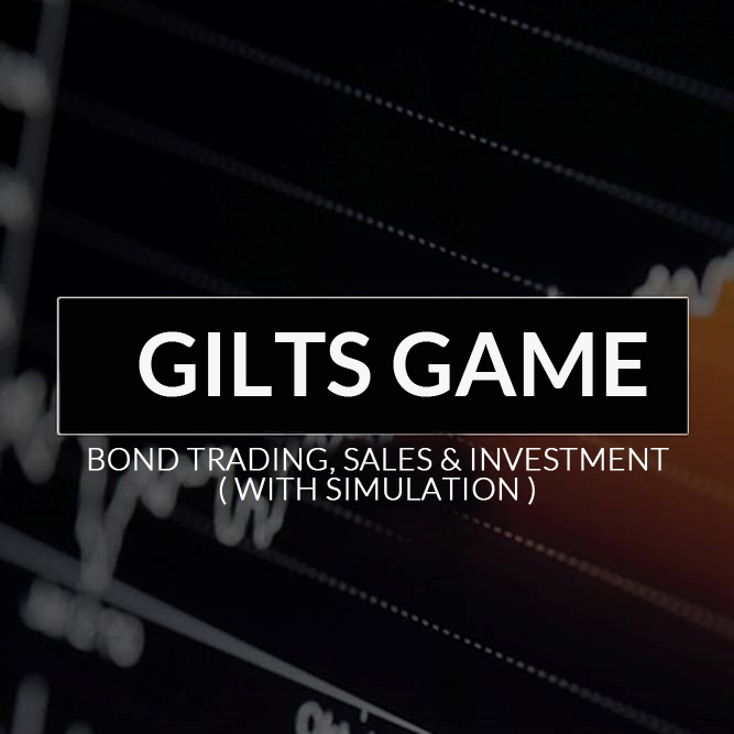 Bonds Trading Sales  Investment  with simulation Gilts
