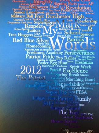 2012 Fort Dorchester Patriot Yearbook Cover